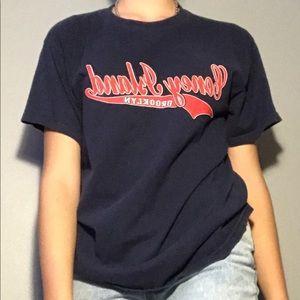 Coney Island Men's Blue t-shirt